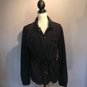 Volcom Jacket With Jersey Sleeves